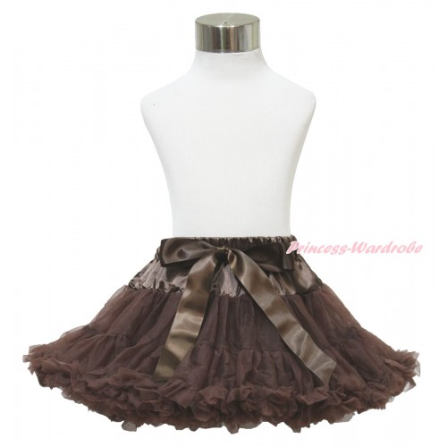 Brown Full Pettiskirt P09
