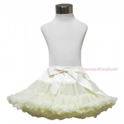 Cream White Full Pettiskirt P14