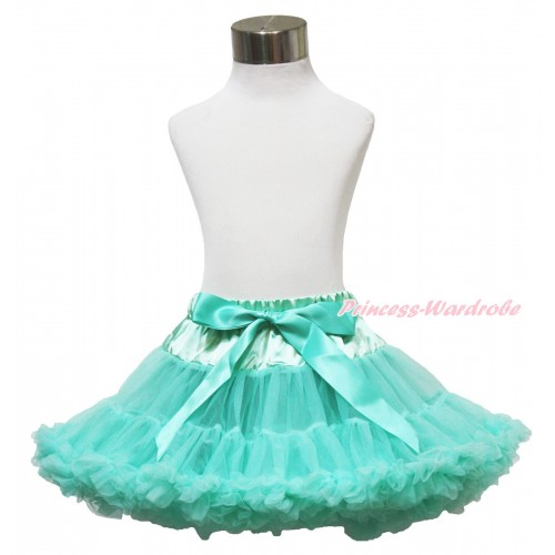 Aqua Blue Full Pettiskirt P17