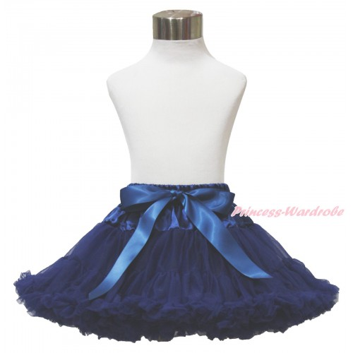 Navy Blue Teen Full Pettiskirt XXL AP105