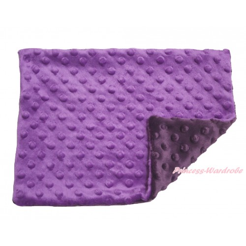 Purple Baby Infant Minky Dots Pillowcase BI45