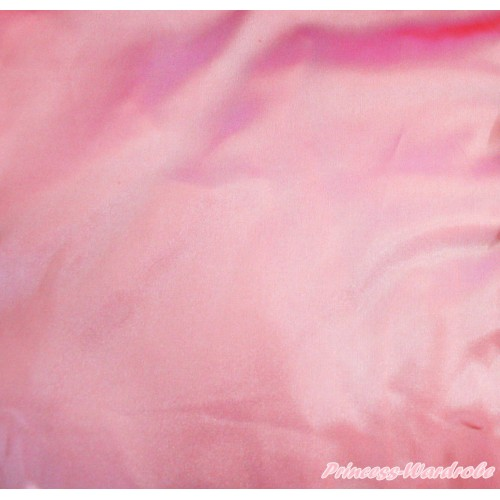 1 Yard Dusty Pink Solid Color Satin Fabrics HG149