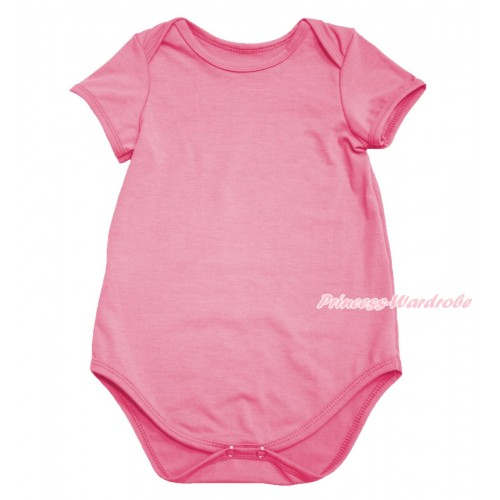 Plain Style Dusty Pink Baby Jumpsuit TH590