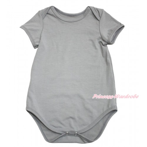 Plain Style Grey Baby Jumpsuit TH597