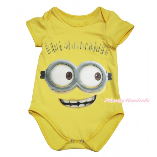 Yellow Baby Jumpsuit & Minion Painting TH605