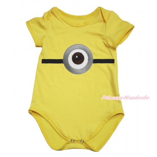 Yellow Baby Jumpsuit & Minion Print TH606