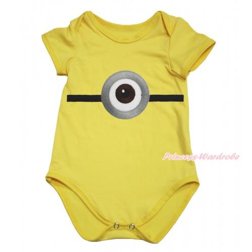 Yellow Baby Jumpsuit & Minion Print TH606
