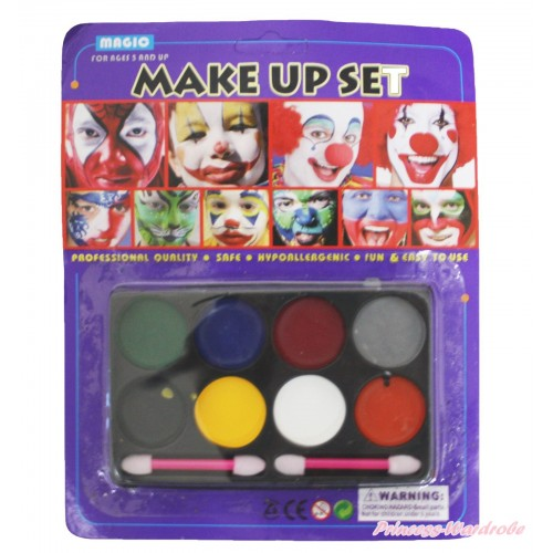 Halloween Circus Clown Eyeshadow Makeup Toy Party Set TY018