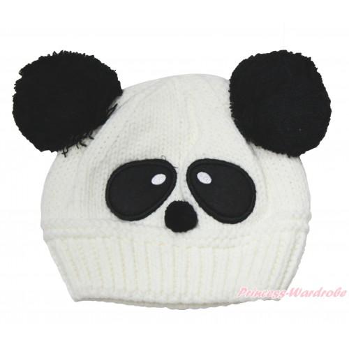 Panda Cute Crochet Hat H1042