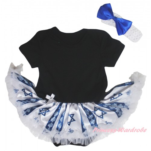 Black Baby Bodysuit Candles Stars Pettiskirt JS6036