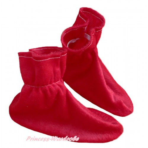 Animals Kids Red Costume Shoes S663