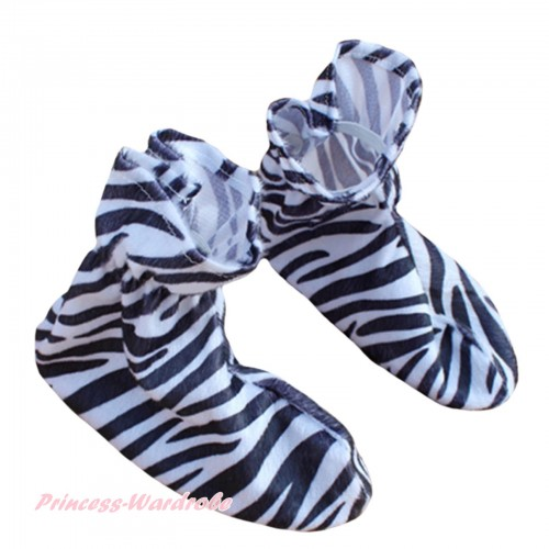 Animals Kids Zebra Costume Shoes S667