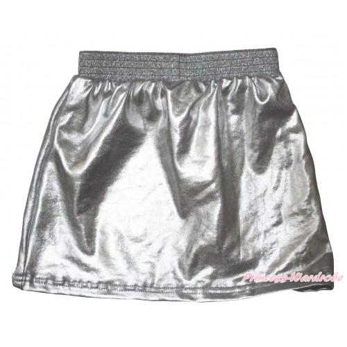 Silver Girls Cotton Skirt P268