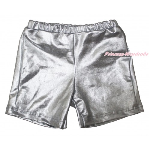 Silver Cotton Short Panties PS048