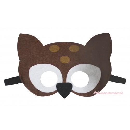 Deer Costume Face Eyes Mask C441