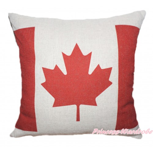 Patriotic Canada Flag Home Sofa Cushion Cover HG105