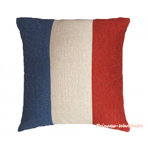 Patriotic France Flag Home Sofa Cushion Cover HG108