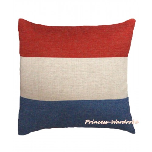 Patriotic Netherlands Flag Home Sofa Cushion Cover HG110