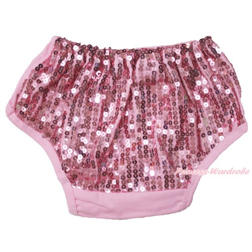 Light Pink Sparkle Sequins Panties Bloomers B105
