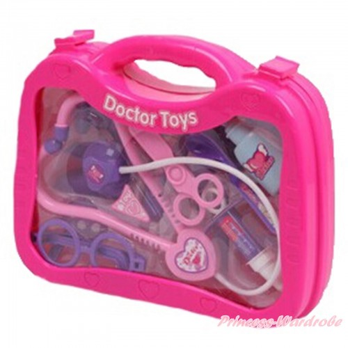 Hot Pink Doctor Nurse Toy Kits Box TY001