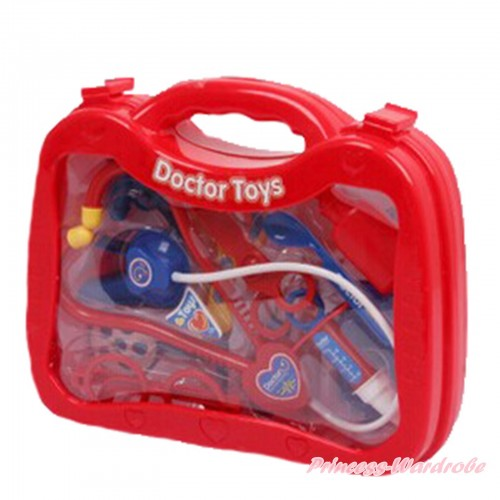 Hot Red Doctor Nurse Toy Kits Box TY002