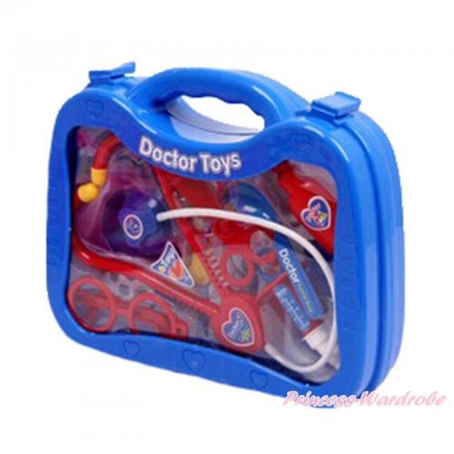 Royal Blue Doctor Nurse Toy Kits Box TY003