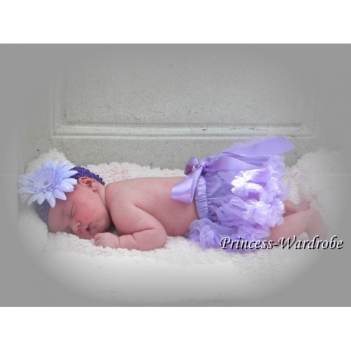 Light Purple New Born Pettiskirt N02