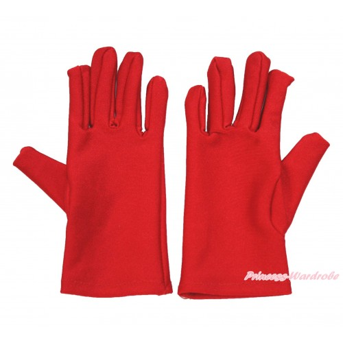 Xmas Hot Red Gloves C323