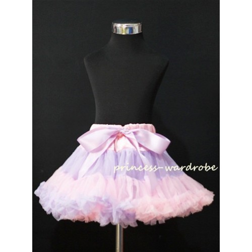 Pink Purple Multi-Colored Pettiskirt P67