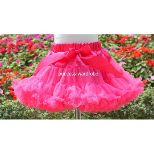 Hot Pink Teen Full Pettiskirt XXL AP03