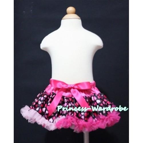 Hot Light Pink Sweet Heart Baby Pettiskirt N62
