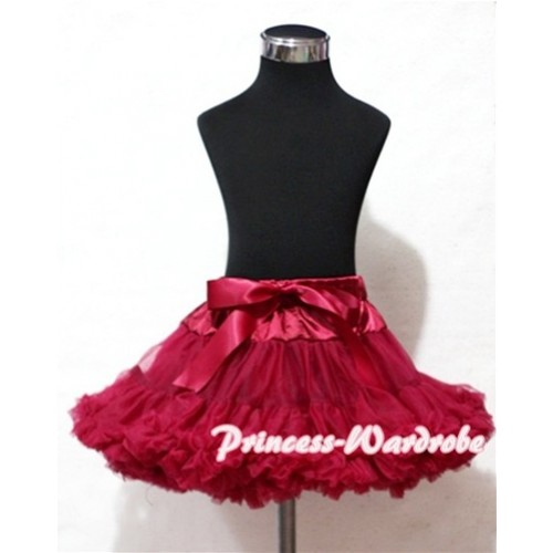 Raspberry Full Pettiskirt P18