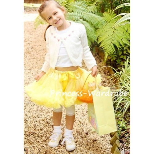 Yellow Full Pettiskirt P03