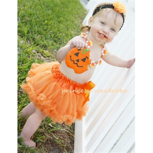 Orange New Born Pettiskirt N33