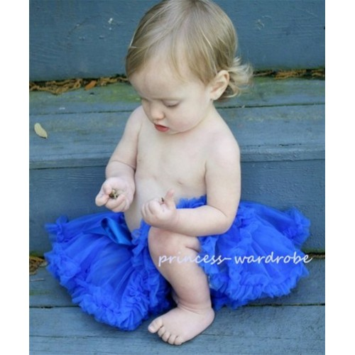 Royal Blue New Born Pettiskirt N28