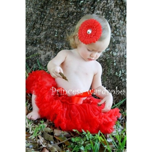 Hot Red New Born Pettiskirt N32
