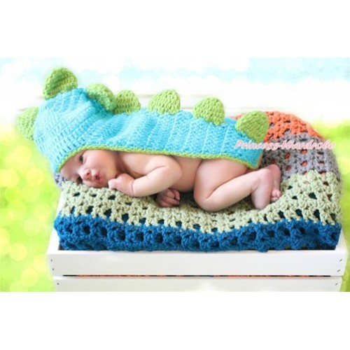Dinosaur Photo Prop Crochet Newborn Baby Custome C152
