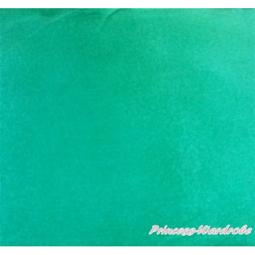 1 Yard Kelly Green Solid Color Satin Fabrics HG072