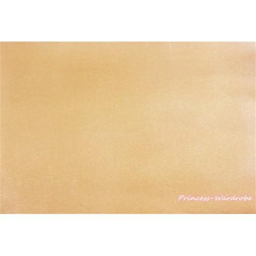 1 Yard Goldenrod Solid Color Satin Fabrics HG085