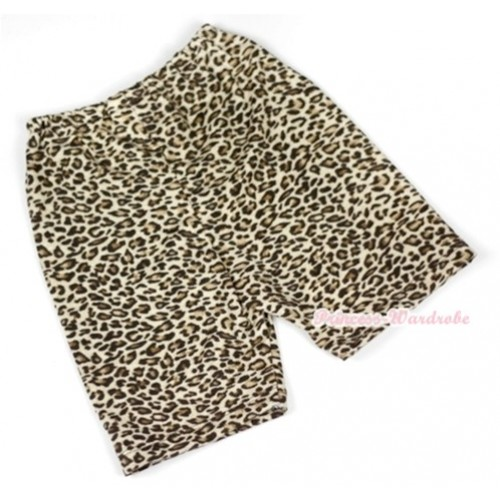 Leopard Cotton Short Pantie PS005