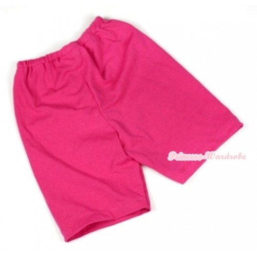 Hot Pink Cotton Short Pantie PS006