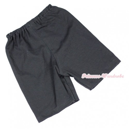 Black Cotton Short Pantie PS007