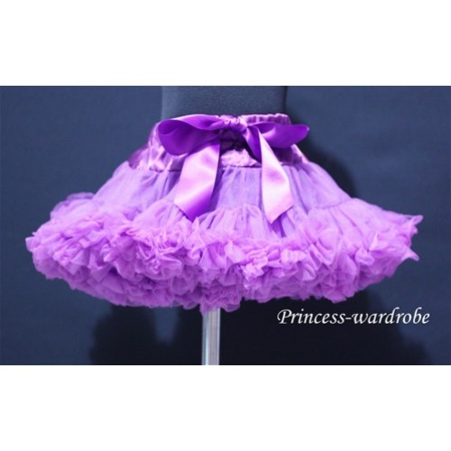 Dark Purple Teen Full Pettiskirt XXL AP06