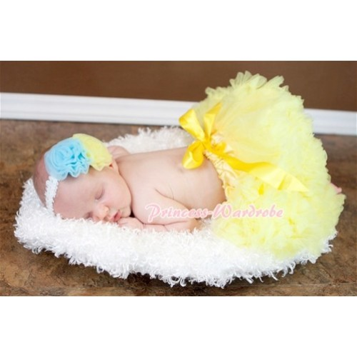 Yellow New Born Pettiskirt N13