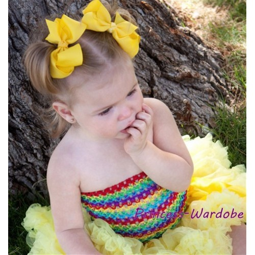 Passion Rainbow Crochet Tube Top CT94