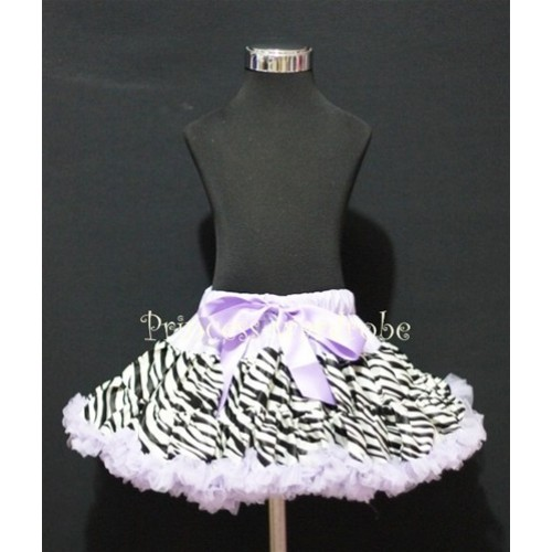 Lavender Zebra Pettiskirt P79