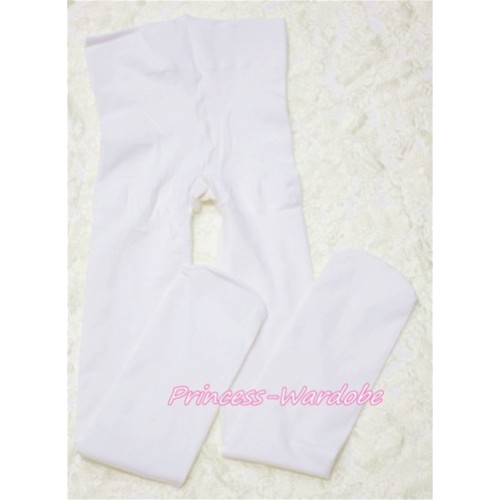 Plain White Leggings Skinny Pants Tights LG143