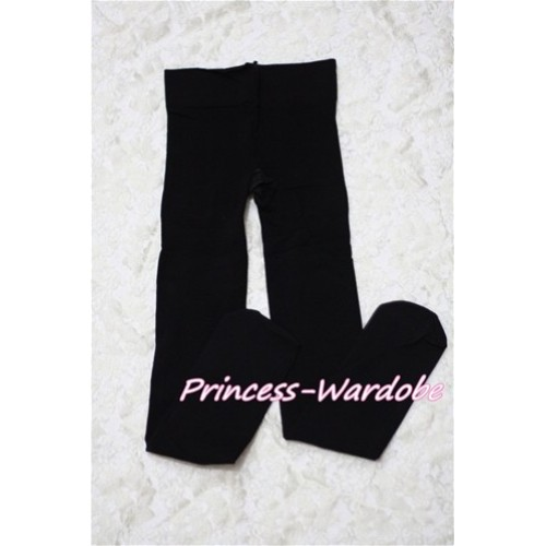Plain Black Leggings Skinny Pants Tights LG144