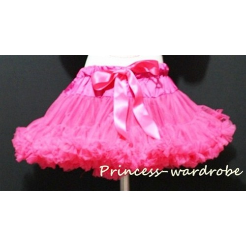 Hot Pink Full Pettiskirt P08