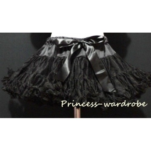 Black Full Pettiskirt P10